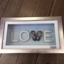 3D Love feet