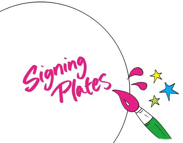 Signing Plates