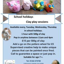 Children's school holiday activities