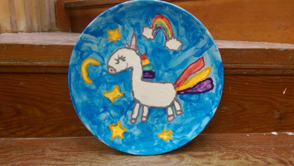 Unicorn Plate